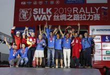 Photo of Podiumfinish voor Polaris tijdens de Silk Way Rally