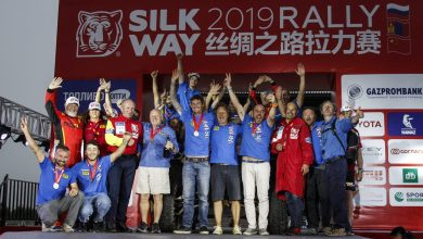 Photo of Podiumfinish voor Polaris tijdens de Silk Way Rally